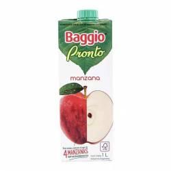 Jugo Natural Manzana Baggio Pronto x 1 Lt.