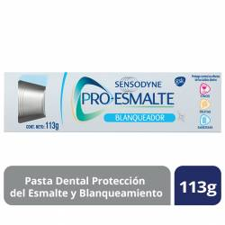 Crema Dental Blanqueadora Pro-Esmalte Sensodyne x 113 g.