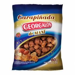 Garrapiñada de Maní Bañada c/Chocolate Georgalos x 80 g.