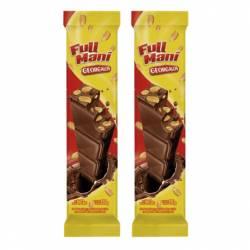 Maní Bañado c/Chocolate Georgalos x 120 g.