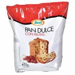 Pan Dulce c/Frutas Best x 450 g.