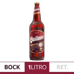 Cerveza Negra Retornable Quilmes Bock x 1 Lt.
