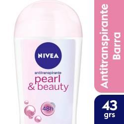 Antitranspirante Barra Pearl & Beauty Nivea Deo x 43 g.