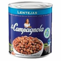 Lentejas Secas Remojadas La Campagnola x 300 g.
