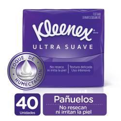 Pañuelos Papel Pack Dermoseda Kleenex x 40 un.