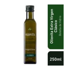 Aceite de Oliva Extra Virgen Vidrio Oliovita x 250 cc.
