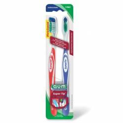 Cepillo Dental Med Súper Tip Oft Gum x 2 un.