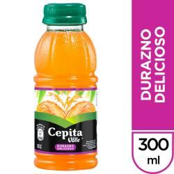 Jugo Natural Durazno Delicioso Cepita x 300 cc.