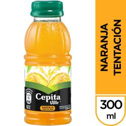 Jugo Natural Naranja Tentación Cepita x 300 cc.