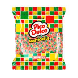 Caramelos Masticables Tuti Futti Pico Dulce x 500 g.
