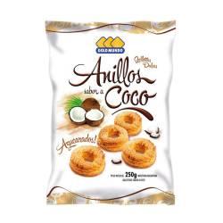 Galletitas Anillos s/Coco Gold Mundo x 250 g.
