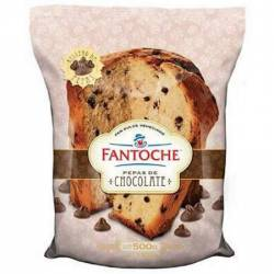 Pan Dulce c/Pepas de Chocolate Fantoche x 500 g.