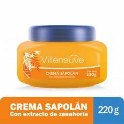 Crema c/Zanahoria Sapolan Villeneuve x 220 g.