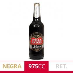 Cerveza Negra Noire Retornable Stella Artois x 975 cc.