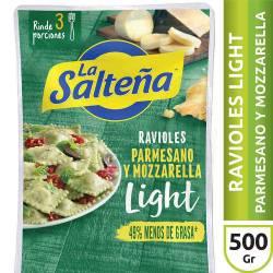 Ravioles de Ricota y Queso Light La Salteña x 500 g.