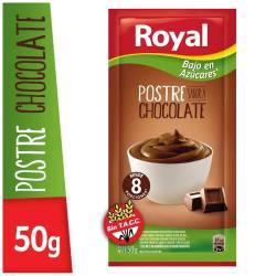 Postre en Polvo Chocolate M. Light Royal x 50 g.