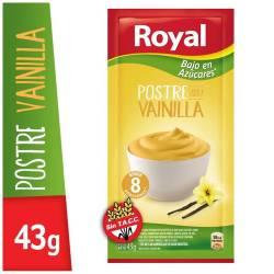 Postre en Polvo Vainilla M. Light Royal x 43 g.