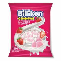 Pastillas de Goma s/Frutilla Crema Billiken x 150 g.