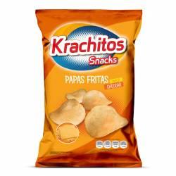 Papas Fritas sabor Cheddar Krachitos x 65 g.