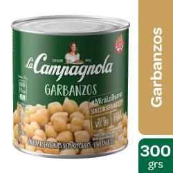 Garbanzos al Natural La Campagnola x 300 g.
