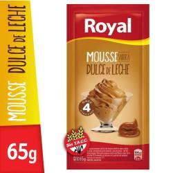 Polvo Mousse Dulce de Leche Royal x 65 g.