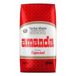 Yerba Mate c/Palo Seleccionada Especial Amanda x 1 Kg.