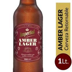 Cerveza Retornable Amber Lager Imperial x 1 Lt.