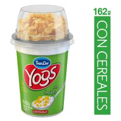 Yogur Descremado c/Cereales Multinut. Sancor Yogs Lig x 162 g.