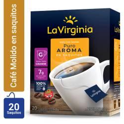Café en Saquitos La Virginia x 20 un.