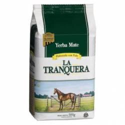 Yerba Mate c/Palo 3 Laminas La Tranquera x 500 g.