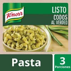 Fideos Codos c/ Salsa Verdeo Knorr x 211 g.