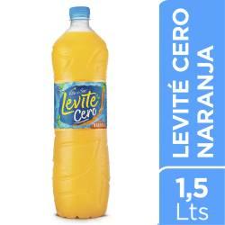 Agua s/Gas Naranja Levite Cero Villa del Sur x 1,5 Lt.