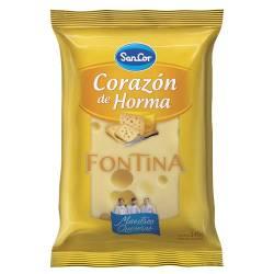 Queso Fontina Corazón de Horma Sancor x 240 g.