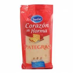 Queso Pategrás Corazón de Horma Sancor x 240 g.