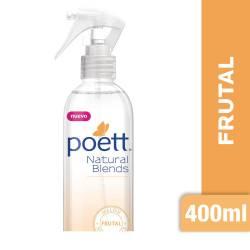 Aromatizante Ambiente Spray Frutal Poett x 400 cc.