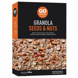 Granola Seeds & Nuts Go Natural x 250 g.