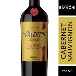 Vino Tinto Cabernet Sauvignon Lacrado Don Valentín x 750 cc.