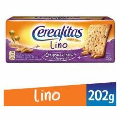 Galletitas Cereal c/Semillas Lino Cerealitas x 200 g.