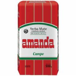 Yerba Mate c/Palo Campo Amanda x 500 g.