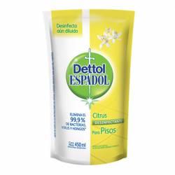 Limpiador Líquido Desinfectante Citrus Espadol Dettol x 450 cc.