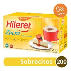 Endulzante Sobres Zucra Hileret x 200 un.