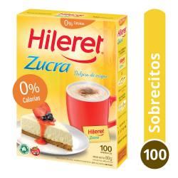 Endulzante Sobres Zucra Hileret x 100 un.