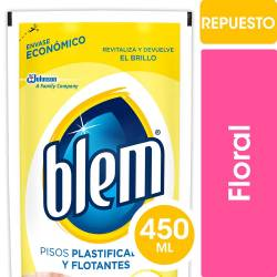 Limpiador Líquido Plastificados y Flotantes Blem x 450 cc.