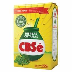 Yerba Mate Comp. Hierbas Cuyanas CBSé x 500 g.