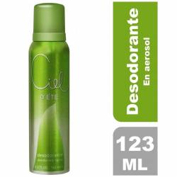 Desodorante Aerosol DEte Ciel x 123 cc.