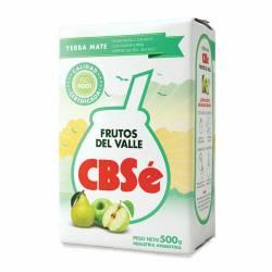 Yerba Mate Frutos Del Valle CBSé x 500 g.