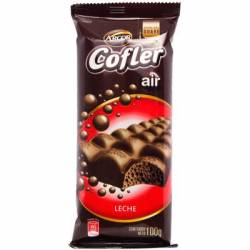 Chocolate c/Leche Aireado Cofler x 100 g.
