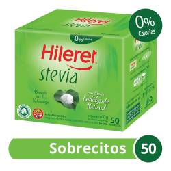 Endulzante Sobres Stevia Hileret x 50 un.