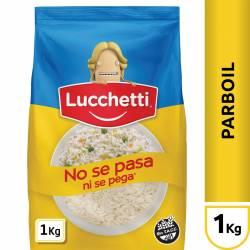 Arroz Parboilizado Bolsa Lucchetti x 1 Kg.