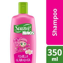 Shampoo Frutilla Glamorosa Suave Kids x 350 cc.